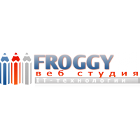 Логотип компании «Веб-студия FROGGY»