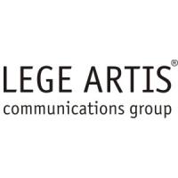 Логотип компании «LEGE ARTIS communications group»