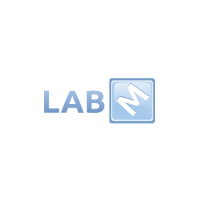 Логотип компании «Лаб М»