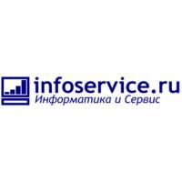 Логотип компании «ИНФОСЕРВИС»