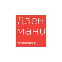 Логотип компании «Дзенмани.ру»