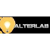 Логотип компании «Студия веб-дизайна ALTERlab»