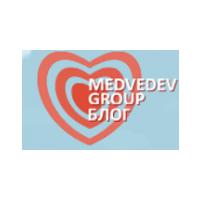 Логотип компании «Медведев Групп»