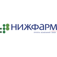 Логотип компании «Нижфарм»