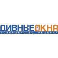 Логотип компании «Дивные окна»