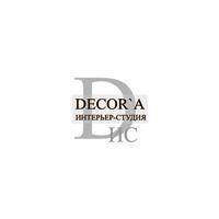 Логотип компании «Интерьер-студия Decor`a»
