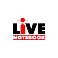 Логотип компании «Live Notebook»