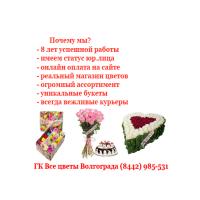 Логотип компании «Все цветы Волгограда»