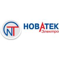 Логотип компании «Новатек-Электро»