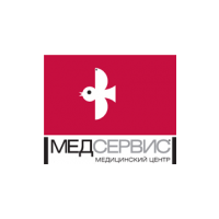 Логотип компании «Медсервис»