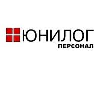 Логотип компании «Юнилог - Персонал»