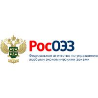 Логотип компании «Федеральное агентство по управлению особыми экономическими зонами (РосОЭЗ)»