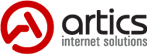 Логотип компании «Artics Internet Solutions»