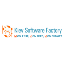 Логотип компании «Kiev Software Factory, KSF»