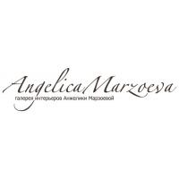 Логотип компании «Галерея интерьеров Анжелики Марзоевой»