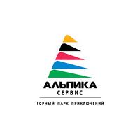 "Логотип компании «Горный парк приключений ""Альпика-Сервис""»"