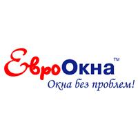 Логотип компании «ЕвроОкна»