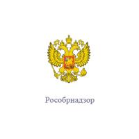 Логотип компании «Федеральная служба по надзору в сфере образования и науки (Рособрнадзор)»