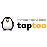 Логотип компании «TopToo Travel»