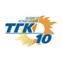 Логотип компании «Территориальная генерирующая компания - 10 (ТГК-10)»