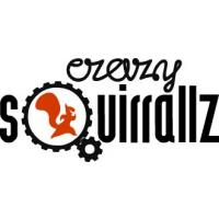 Логотип компании «Crazy Squirrallz»