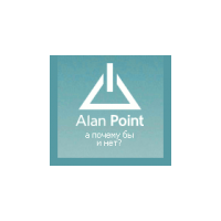 Логотип компании «Alan Point»