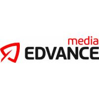 Логотип компании «EdvanceMedia»