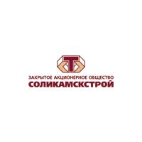 Логотип компании «Соликамскстрой»