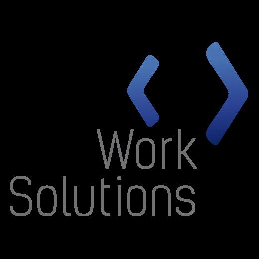 Логотип компании «Work Solutions»