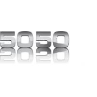 Логотип компании «Рекламная группа 5050»