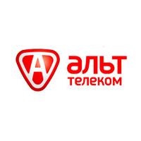 Логотип компании «Альт Телеком»