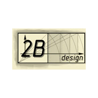 Логотип компании «2B DESIGN»