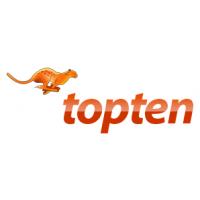 Логотип компании «Топ-тен»