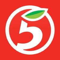 Логотип компании «Пятёрочка»