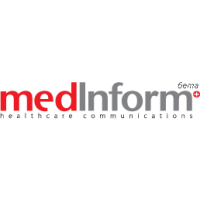 Логотип компании «MedInform Healthcare Communications»