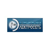 Логотип компании «Петродворцовая электросеть»