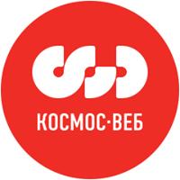Логотип компании «Космос-Веб»