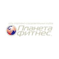 Логотип компании «Планета Фитнес»