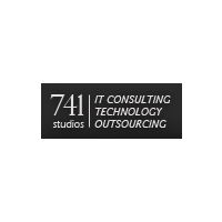 Логотип компании «741 Studios»