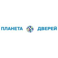 Логотип компании «Планета Дверей»