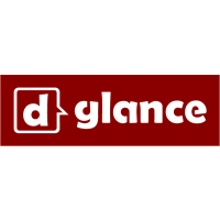 Логотип компании «dGlance»