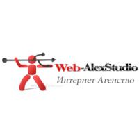 Логотип компании «Web-AlexStudio»