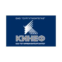 Логотип компании «КИНЕФ»