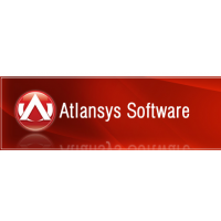 Логотип компании «Atlansys Software»