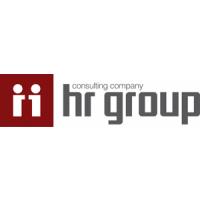 Логотип компании «HR-group»