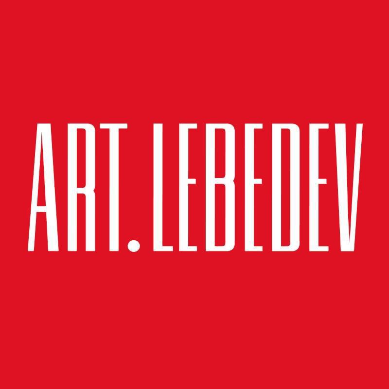 Логотип компании «Студия Артемия Лебедева»