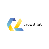 Логотип компании «Crowd Lab»