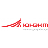 Логотип компании «Группа компаний ЮНЭКТ»