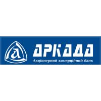 Логотип компании «АКБ Аркада»