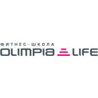 Логотип компании «Фитнес-школа Olimpia Life»